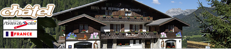 Les htels de Chtel Hbergement la montagne Office de