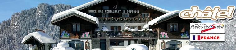 HOTEL CHATEL : Fleur de Neige - Htel toiles Restaurant